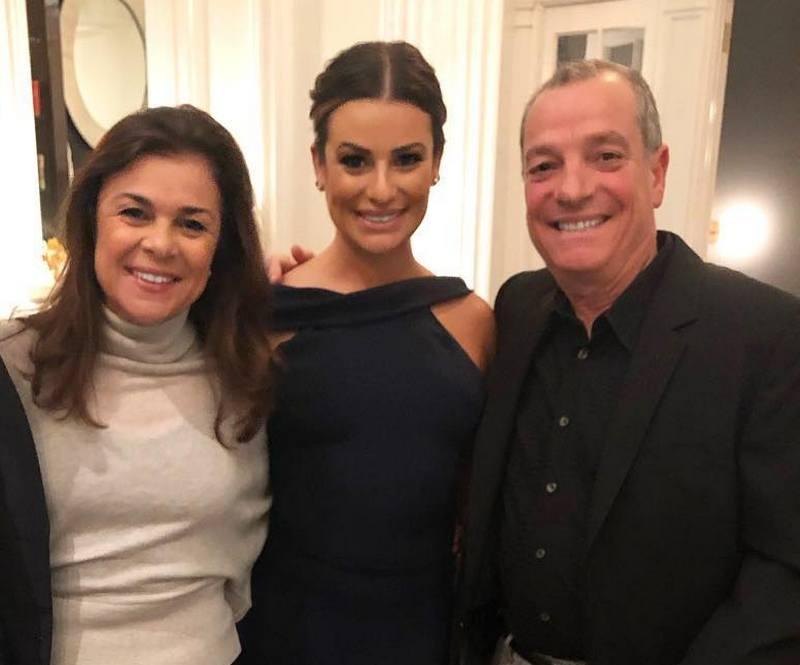 Lea Michele family - father Mark David Sarfati