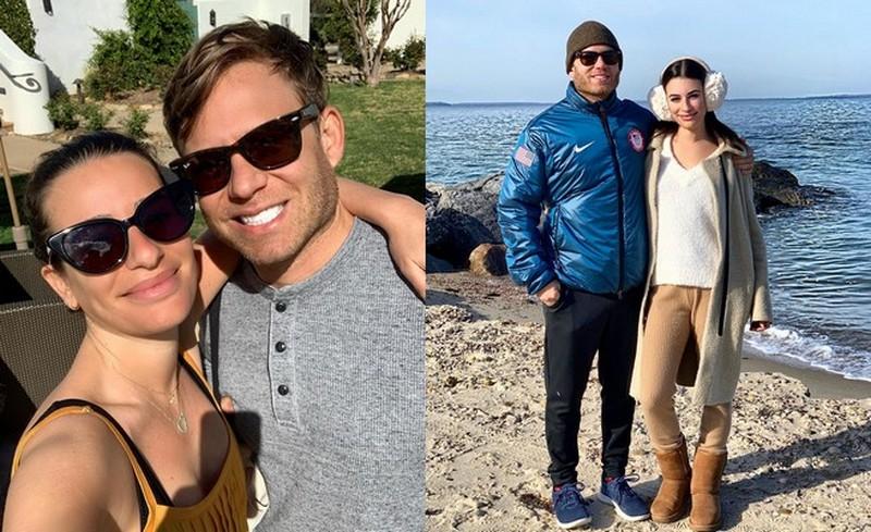 Lea Michele family - husband Zandy Reich