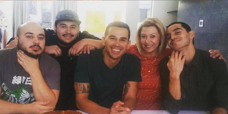 Manny Montana family - mother Martha Aldrette