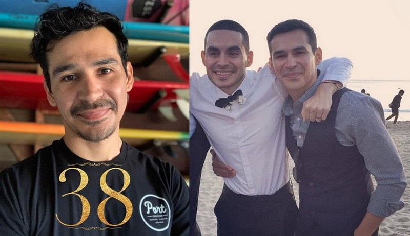Manny Montana siblings - brother Michael G. Martinez