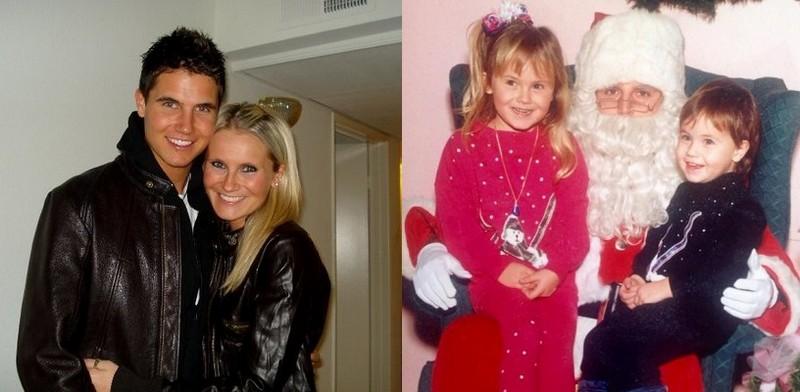 Robbie Amell siblings - sister Jamie Amell